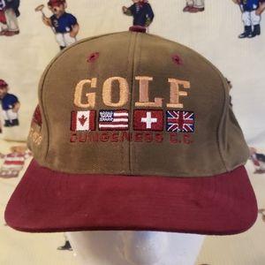 vintage golf  Dungeness hat